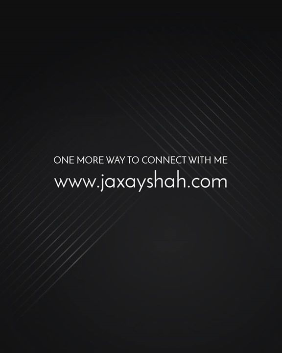 One more way to stay connected.  www.jaxayshah.com