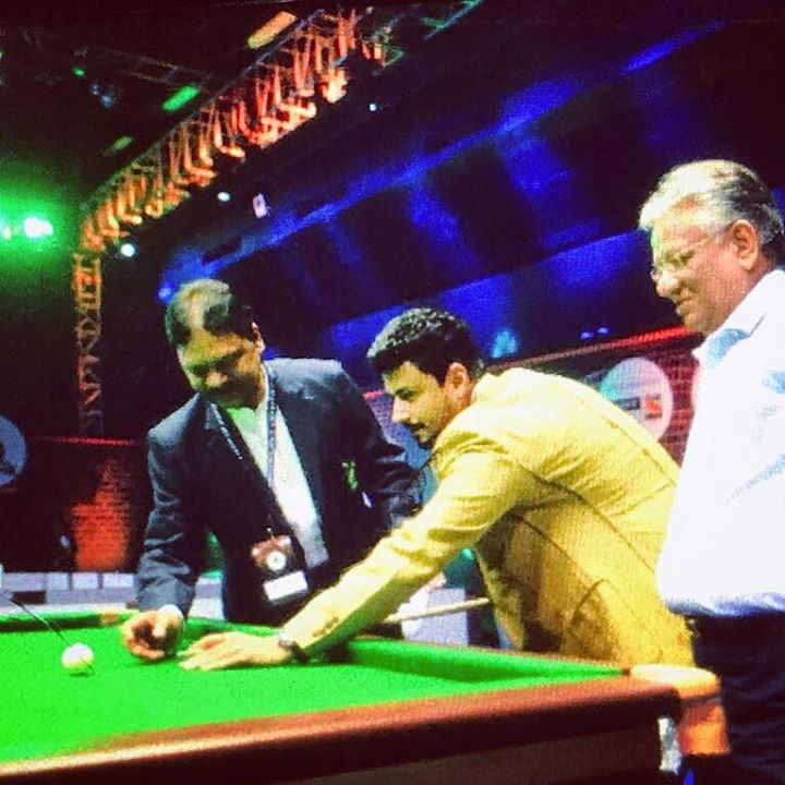 Happy to open Indian Cue Masters League. Live on Sony ESPN & Sony ESPN HD 1800-2030hrs.