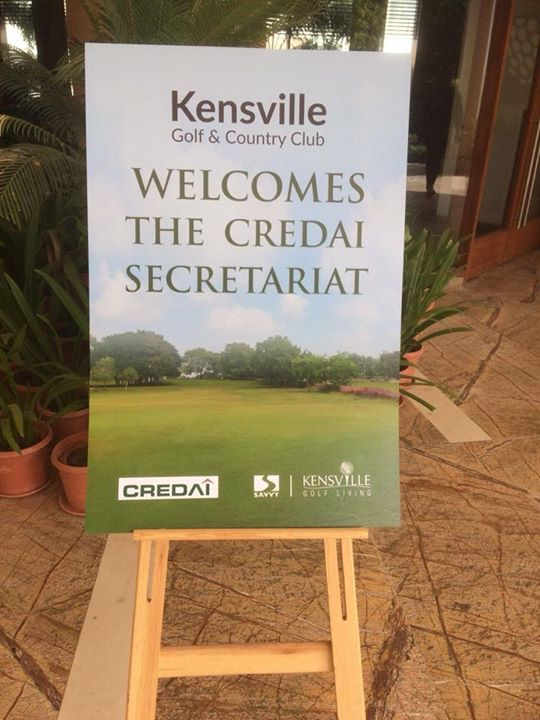 The much-awaited CREDAI #SecretariatConclave is going to begin today! This is the second edition, and we cannot wait to set the agenda for next year moving already.   A quick glance at the venue.
