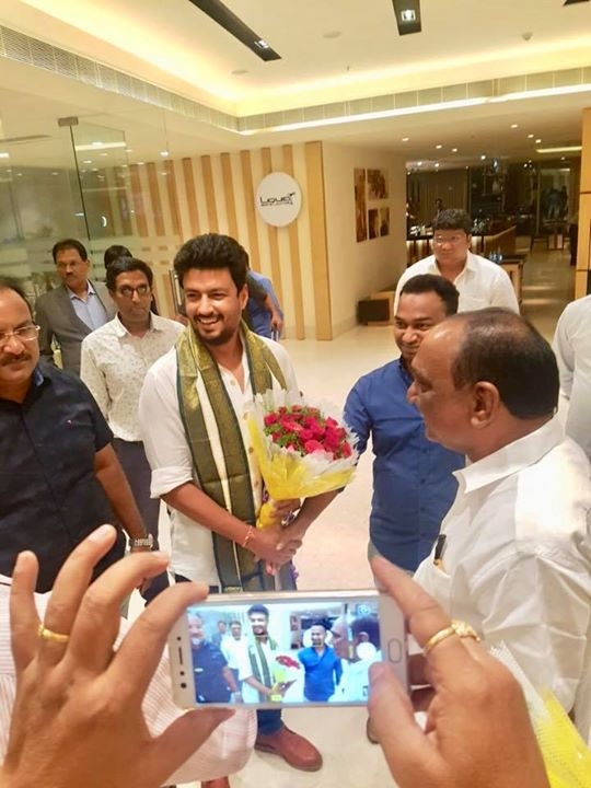 Thank you CREDAI VIZAG for the warm welcome! I am touched..