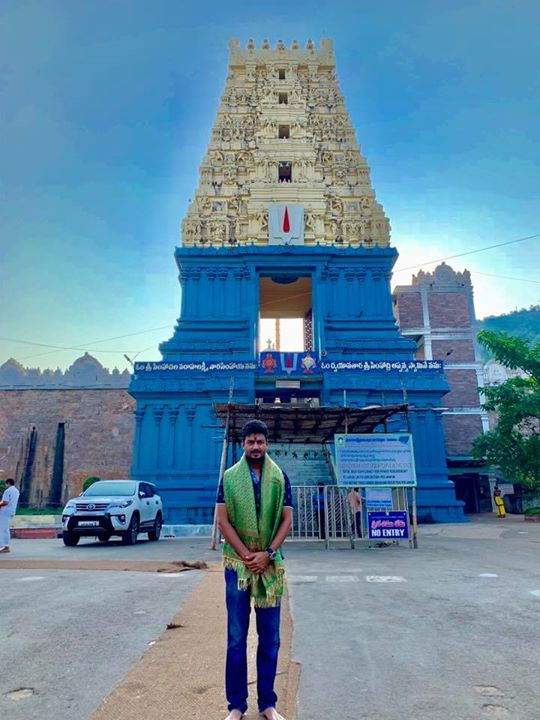 Feeling blessed to be at Simhachalam temple 🙏
