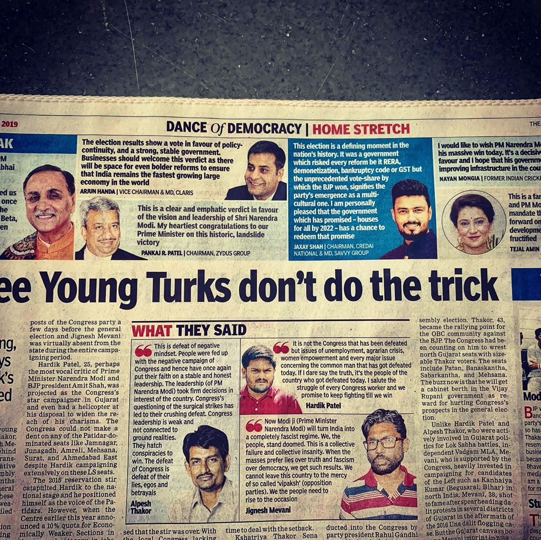 My views in today's Times of India!