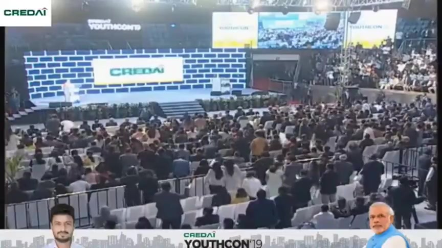 Today on 13th February, I reminisce about the historic reception showed by the 4000+ energetic audience at the launch of the CREDAI YOUTHCON'19. I recommend you all to listen to this enthusiastic bit again.  #Credai #JaxayShah #YouthCon19 #NarendraModi #RealEstate #HistoricDay