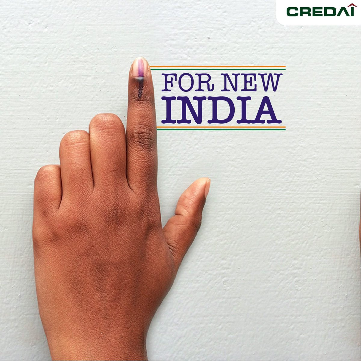 Make your choice and be sure to vote! Your future is in your hands. #VoteIndia #PragatiKiAur #VoteForChange @CREDAINational @ASSOCHAM4India @CREDAI_Gujarat @SavvyAhmedabad @PMOIndia https://t.co/inOJjUgUzB