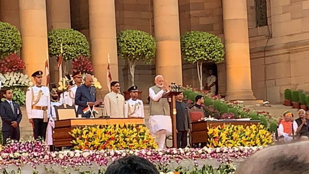 Lucky to witness the historic moment !!@SavvyAhmedabad @CREDAINational @ASSOCHAM4India https://t.co/aqCj81Msi8