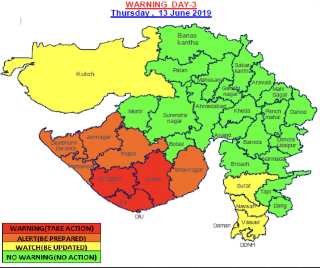 RT @Mukeshias: #IMD Bulletin:8  Date: 11/6/2019 Time: 2100 IST https://t.co/N4oHUqppHD