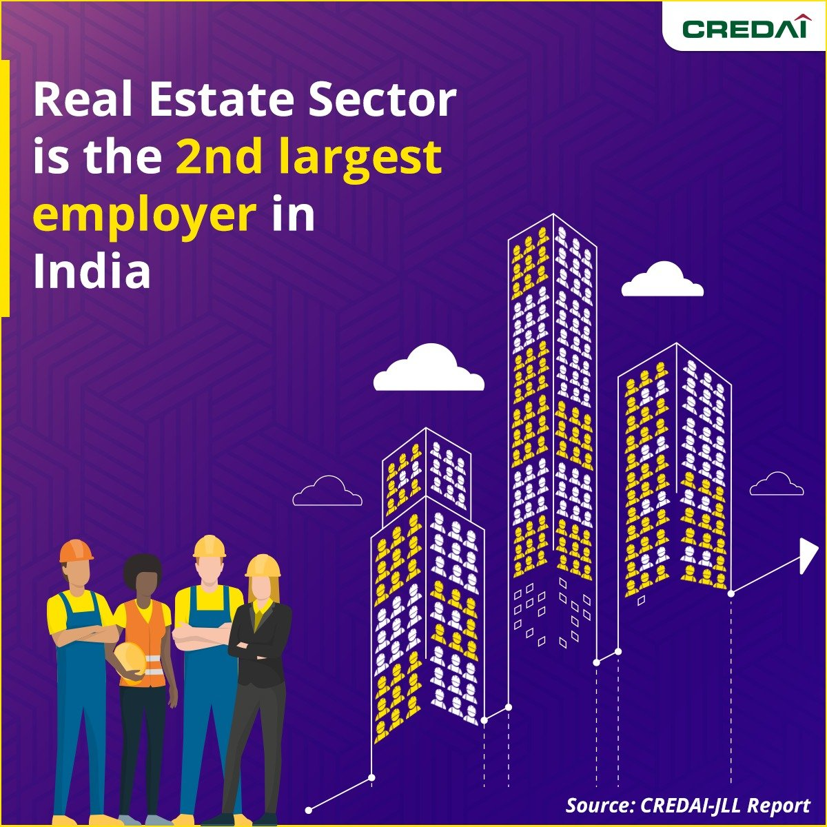 RT @CREDAINational: #FridayFact | The #RealtySector is expected to grow at a rate of 30% over the next decade. https://t.co/onyroxhNM4