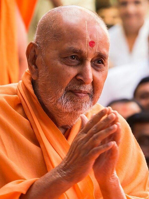 વિશ્વ ના અનેક દેશોમાં સેંકડો મંદિરો ની સ્થાપના કરી ભારતીય સંસ્કૃતિ અને હિંદુ ધર્મ ની ધજા ફરકતી રાખનાર  વિશ્વ વંદનીય સંત અને ભગવાન સ્વામિનારાયણ ના પાંચમા આધ્યાત્મિક અનુગામી એવા ગુરુહરિ પ.પૂ
