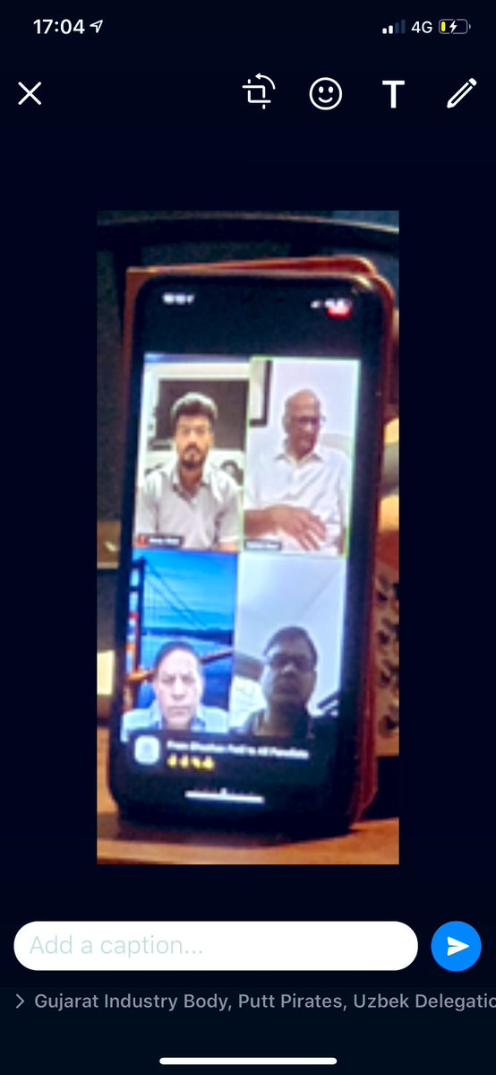 We would like to thank Sh Sharad Pawar for reassuring discussions with 2300+ CREDAI members via webinar & guiding us on how to combat global pandemic  #RealEstate will bounce back overcoming the crisis soon  #IndiaFightsCovid  @PawarSpeaks @jaxayshah @BRustomjee @CREDAIPresident https://t.co/nEQuXnh6AQ