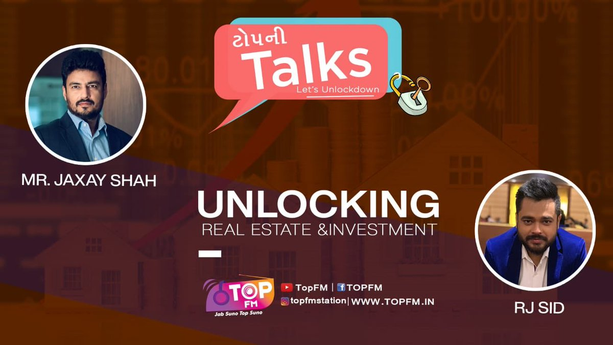 Real estate news listeners and viewers shall get to know thoughts of unlocking Real estate investment in 8 stations of Gujarat and on  official pages too https://t.co/ReVKwErZ5f                                              https://t.co/HB1GHknW1S. @harshoza03 @SavvyAhmedabad https://t.co/dWxs7qjoyW