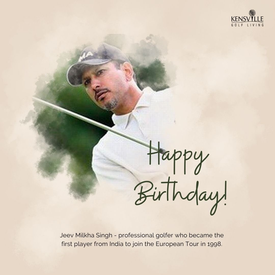 Happy birthday to you Jeev .. proud to have you as our esteemed member 👍 @JeevMilkhaSingh @KensvilleGolf @SavvyAhmedabad https://t.co/nlHNPZPQGZ