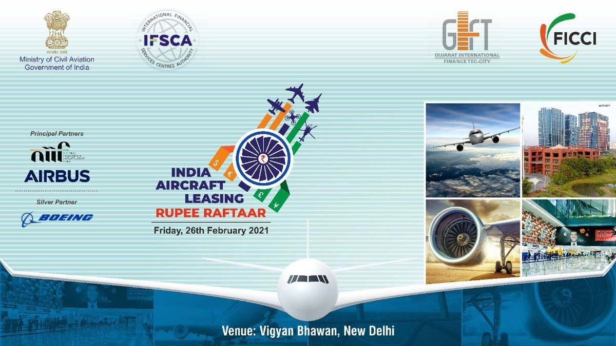 RT @GIFTCity_: GIFT City : A Destination for Aircraft Leasing & Financing Business in India @ficci_india @MoCA_GoI https://t.co/iWkBwLbs5X