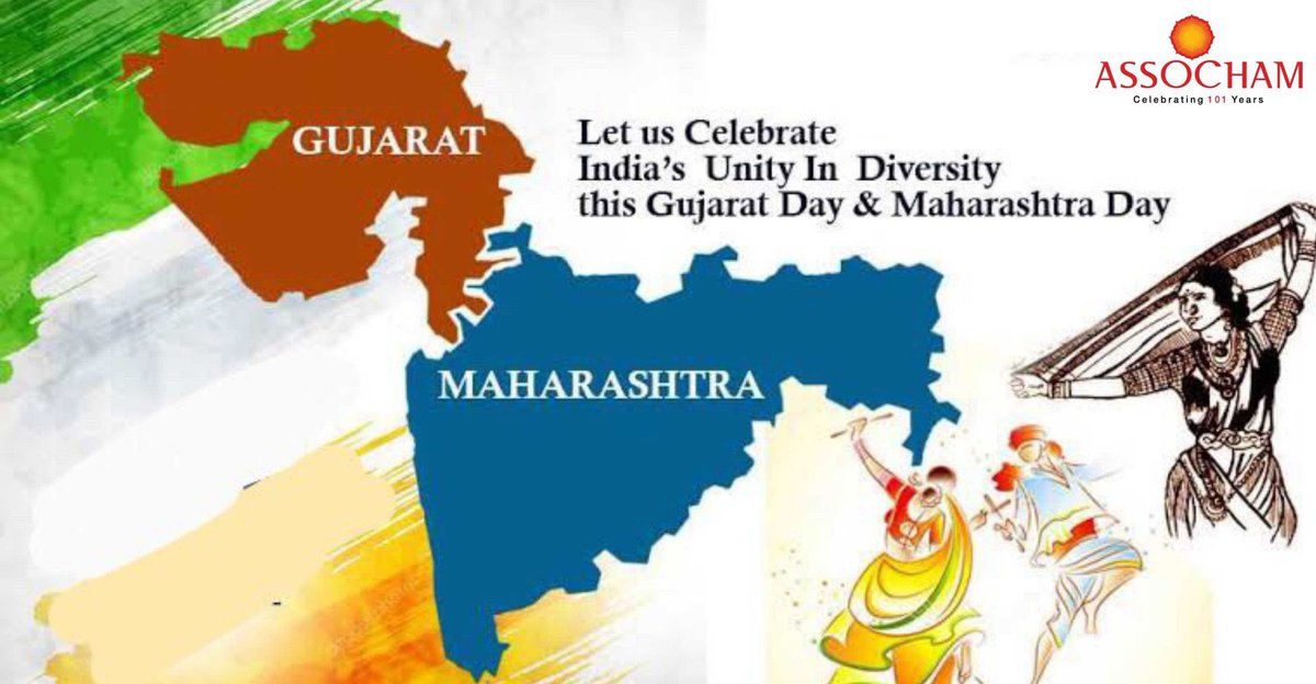 On the occasion of #ગુજરાત_સ્થાપના_દિવસ & #महाराष्ट्र_दिन, wishes good health & prosperity to the natives. #જય_જય_ગરવી_ગુજરાત  #जयमहाराष्ट्र @CREDAINational @ASSOCHAM4India @SavvyAhmedabad https://t.co/xwDUeYDiMw