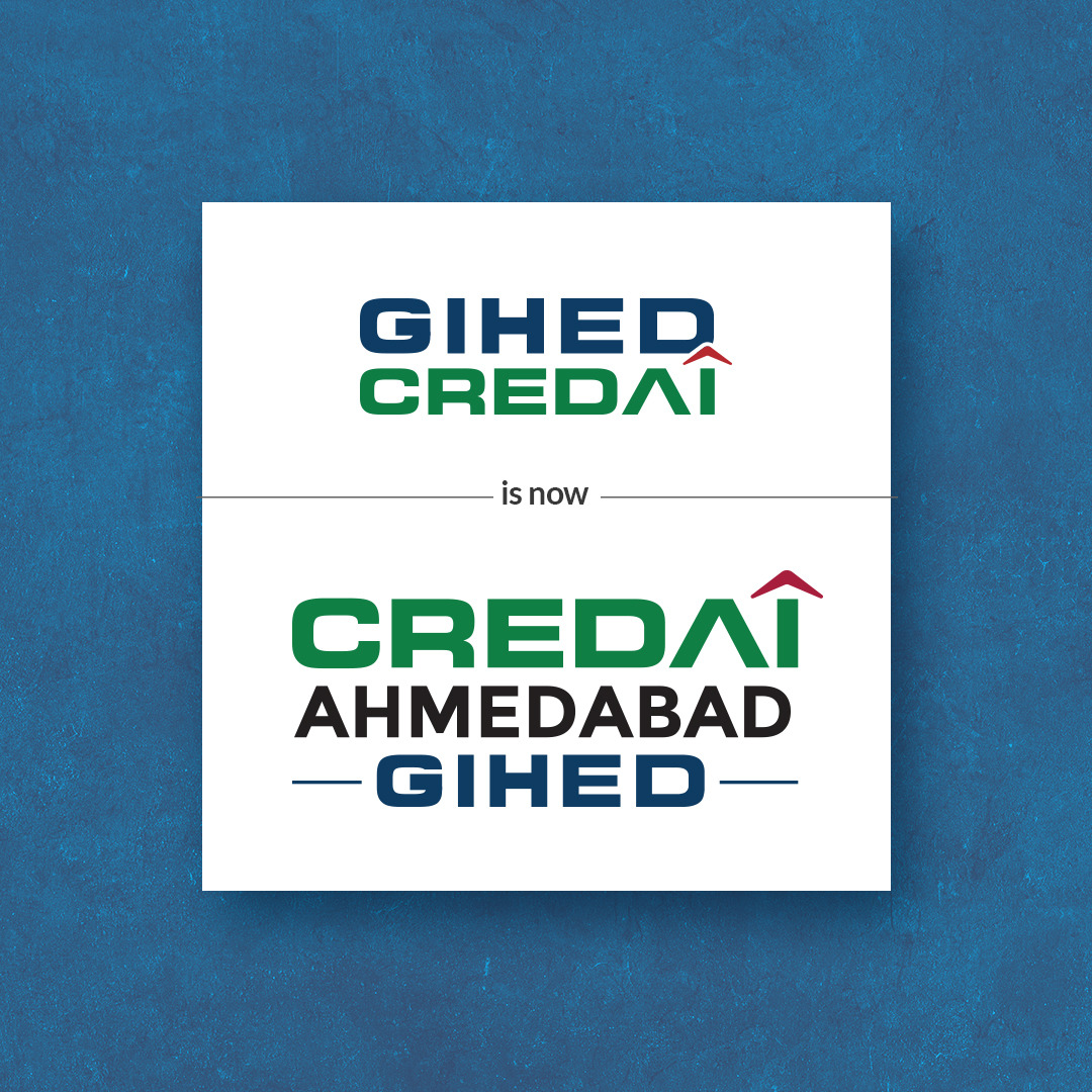 RT @CREDAIAhmedabad: Only our identity has been changed but our commitment doesn't. https://t.co/IwuiJWg9OJ