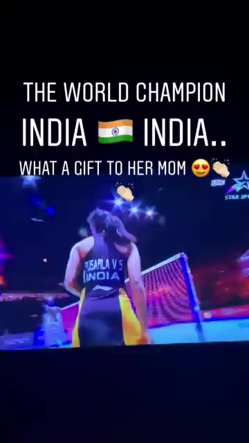 PV Sindhu beats Japan's Nozomi Okuhara 21-7, 21-7;  becomes 1st Indian to win BWF World Championships gold medal. What a gift to her mom!@Pvsindhu1  congratulations! https://t.co/DJVqMafkxv
